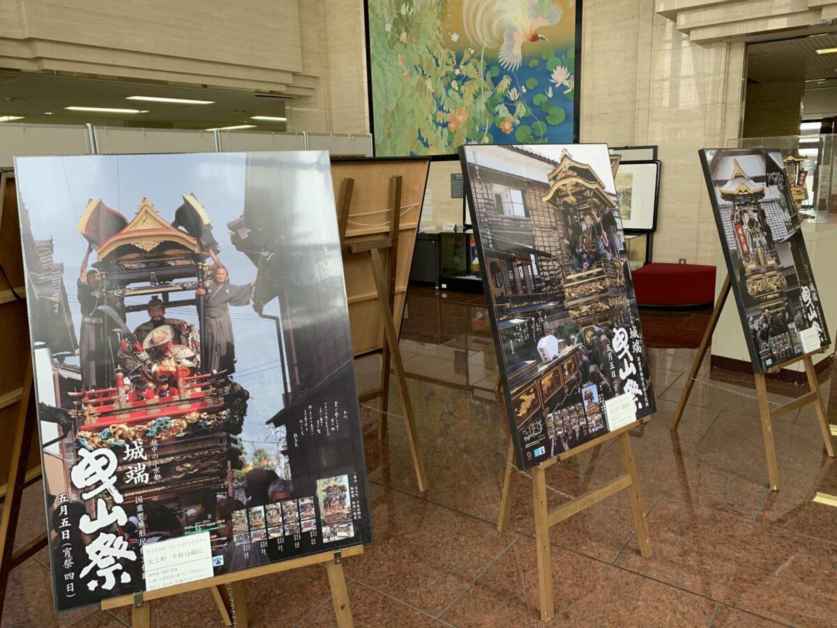 城端曳山祭りの過去のポスター