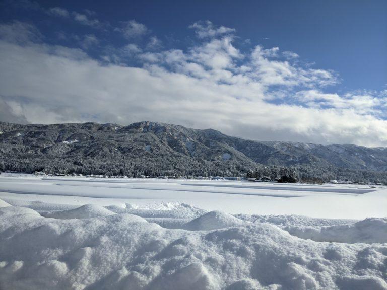 雪原南砺地内