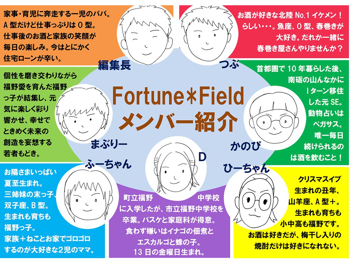 FFチラシ_結成メンバー紹介