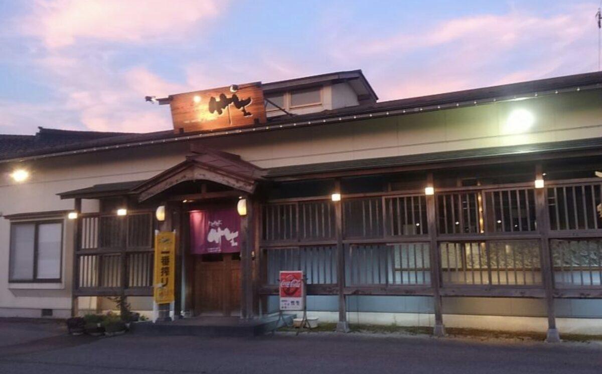 南砺市福野エリアのお好み焼き屋『竹生』