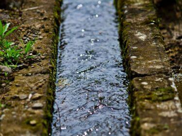 南砺市福野には富山県では珍しい!?北から南に流れる川があるの知ってた?