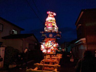 【横町】令和3年の夜高祭は、簡単に言ってこんな感じでしたよ