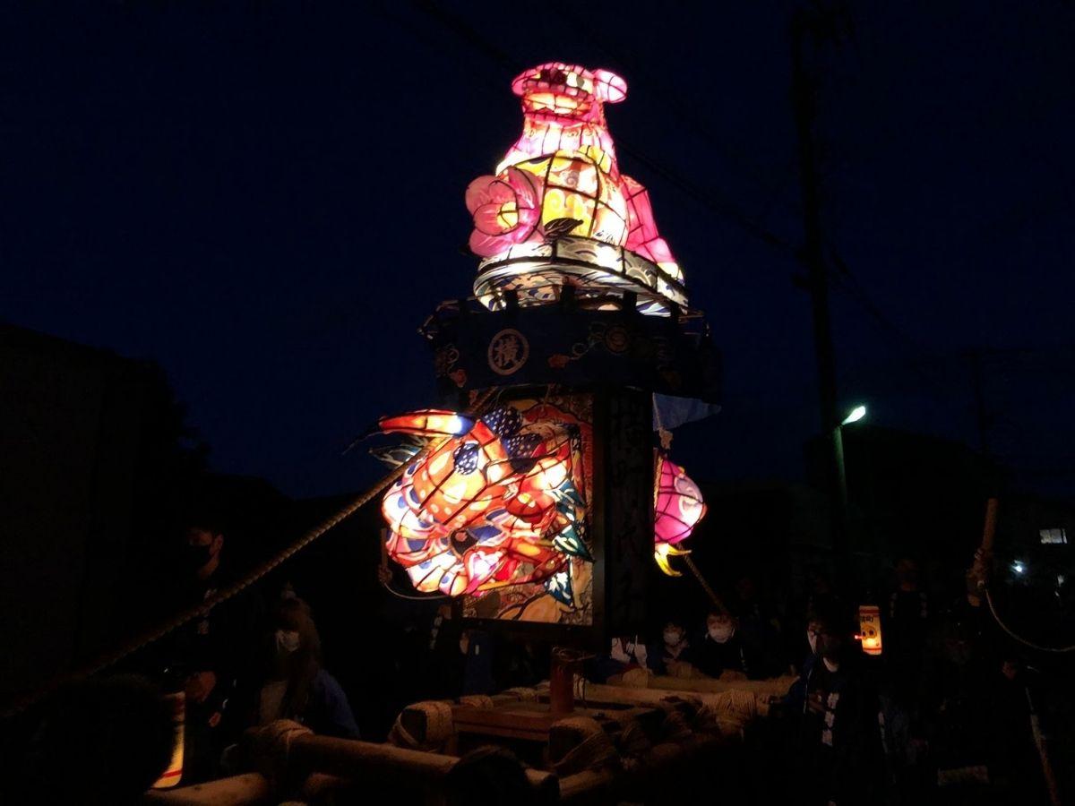 横町の子供行燈1