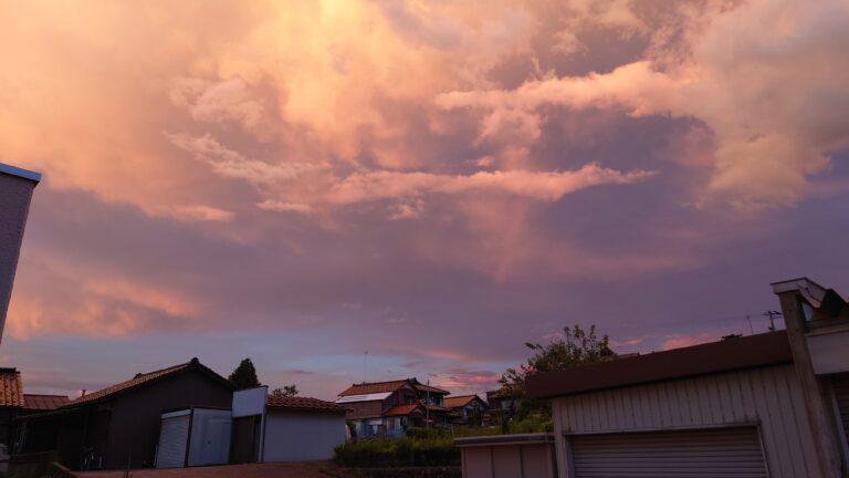 夕焼け雲1