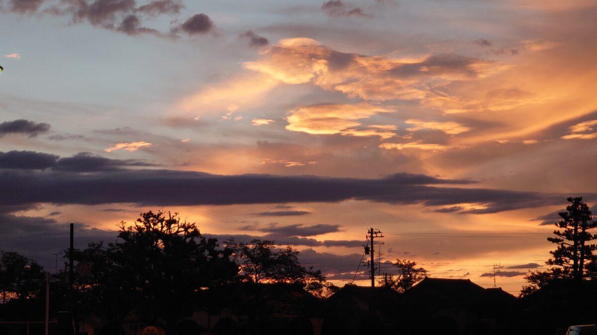 夕焼け雲4