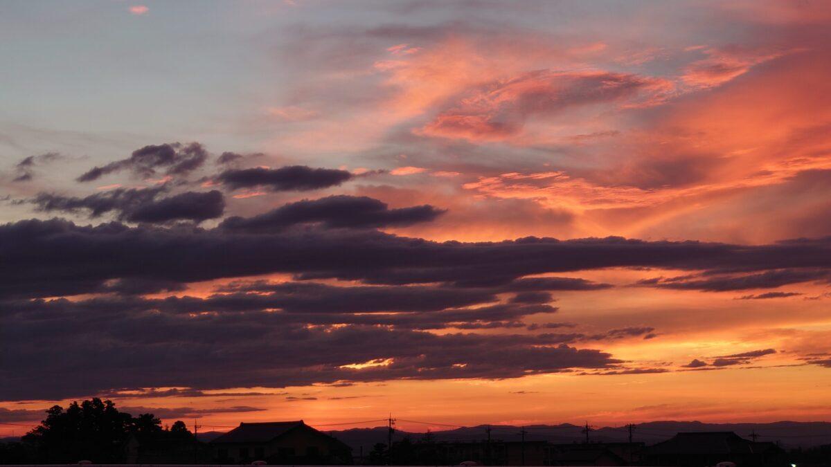 夕焼け雲5