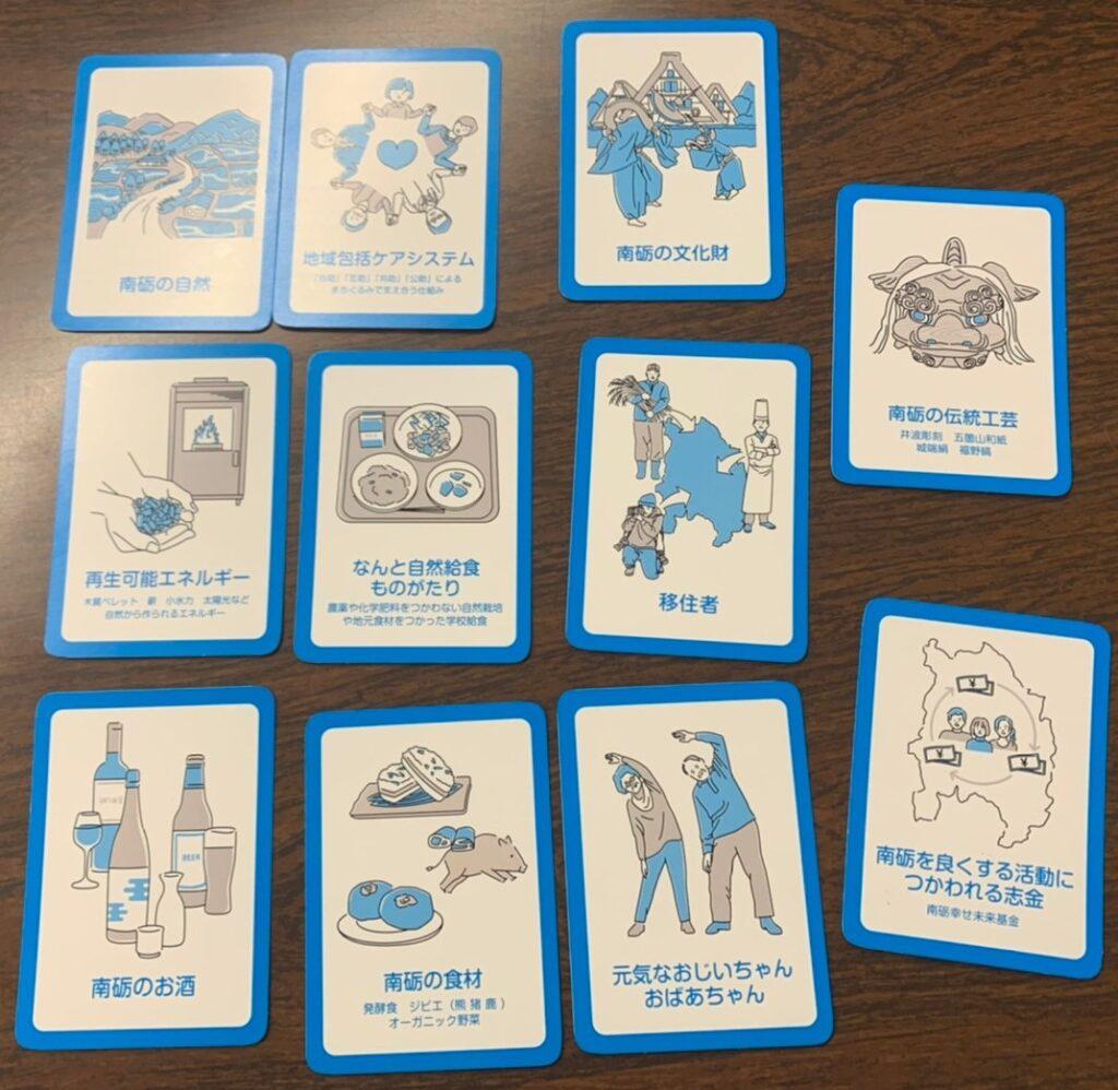 TheSDGsアクションカードゲームX南砺市版リソースカード