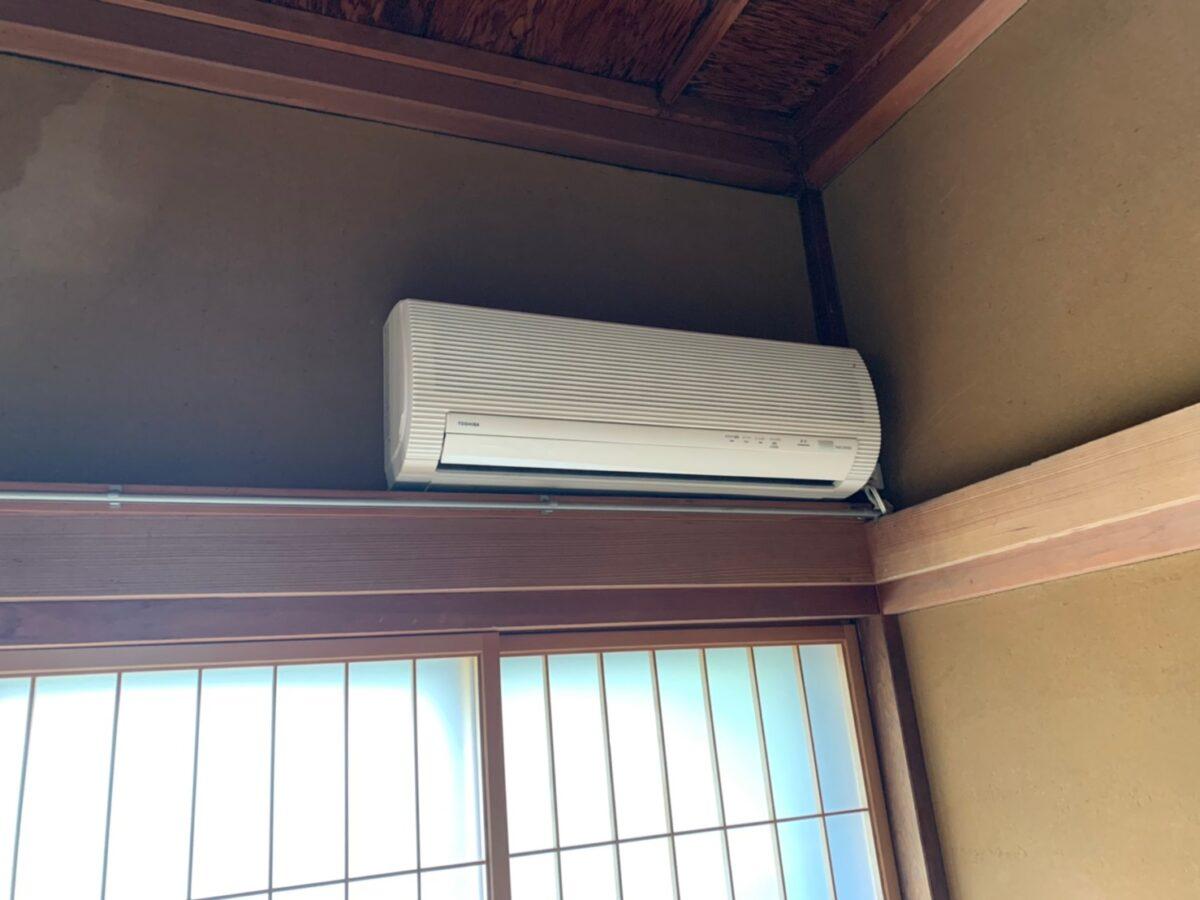 山田邸のエアコン