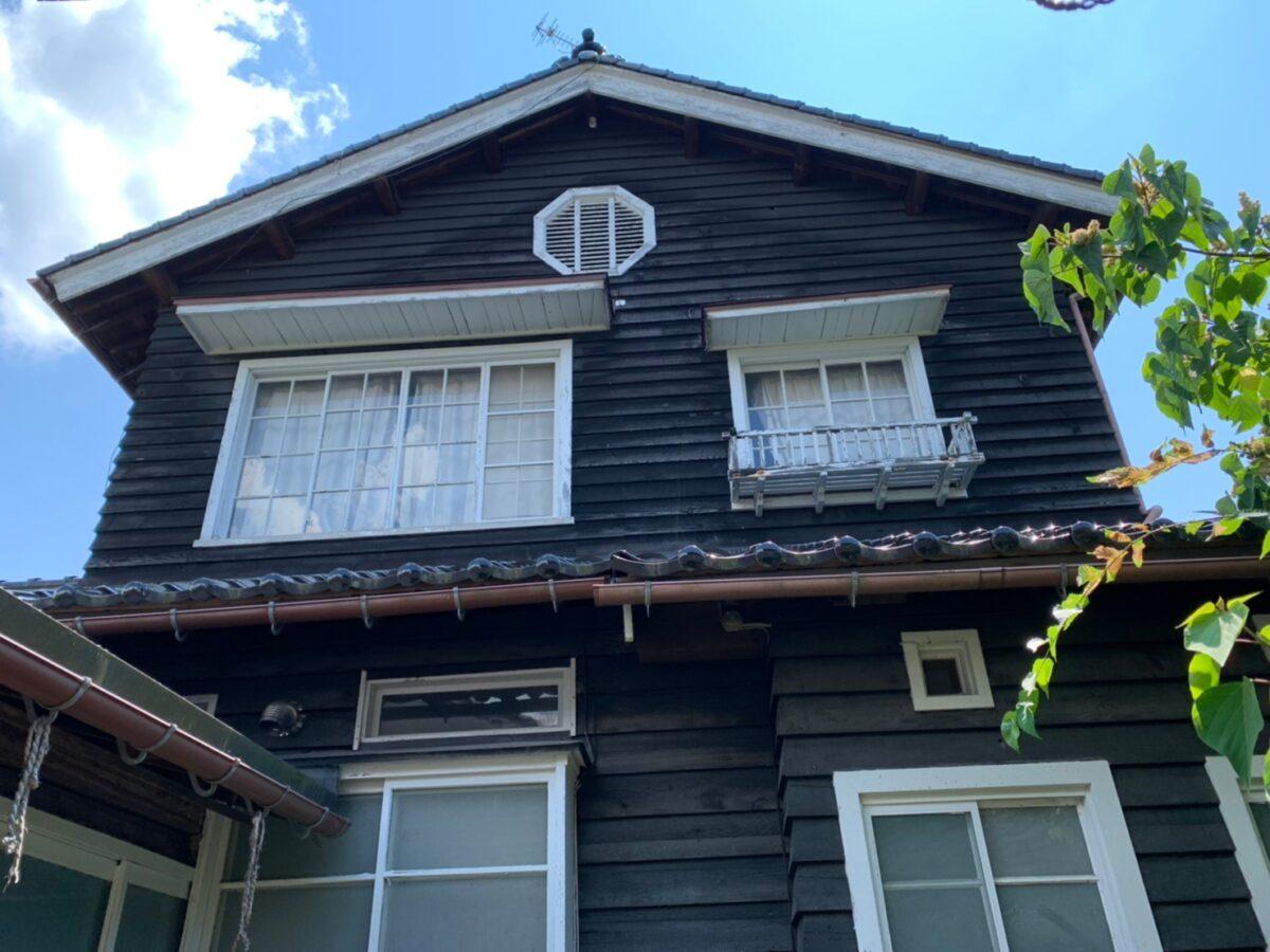 山田邸の八角窓