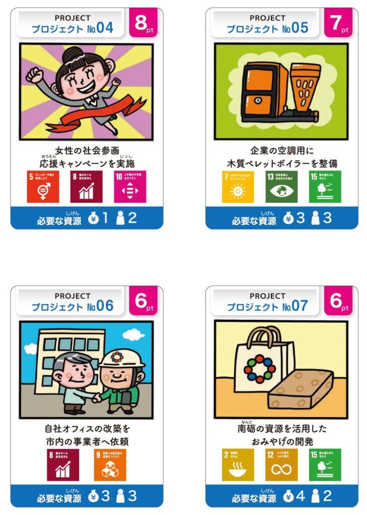 なんとSDGsボードゲーム_プロジェクトカード