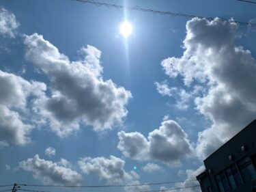 南砺市は今日も暑い、4日連続で熱中症警戒アラートがでてる