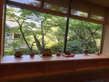 庄川・人肌の宿「川金」内のカフェが素敵☆