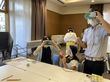 初VR(バーチャルリアリティー)体験してきました!